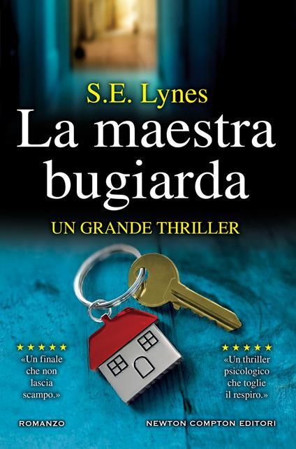 La maestra bugiarda - S. E. Lynes - copertina