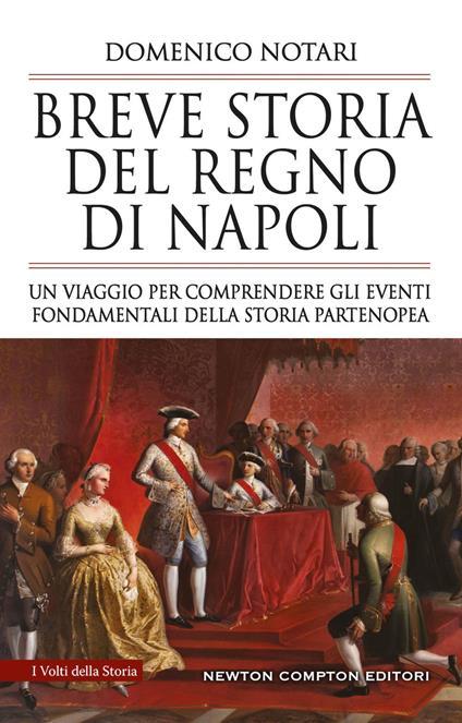 Breve storia del Regno di Napoli. Un viaggio per comprendere gli eventi fondamentali della storia partenopea - Domenico Notari - copertina