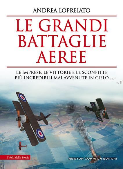 Le grandi battaglie aeree. Le imprese, le vittorie e le sconfitte più incredibili mai avvenute in cielo - Andrea Lopreiato - ebook