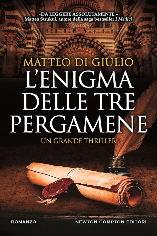 L'enigma delle tre pergamene - Matteo Di Giulio - copertina