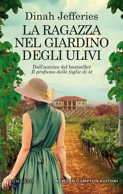La ragazza nel giardino degli ulivi - Dinah Jefferies - copertina
