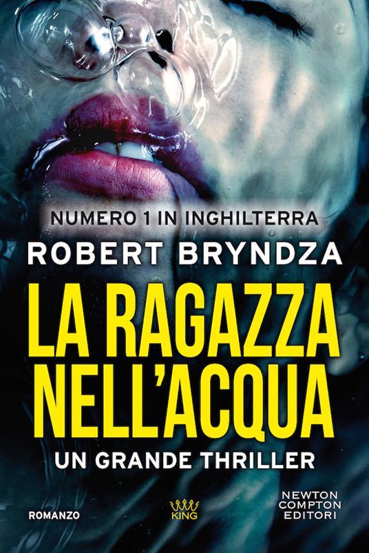 La ragazza nell'acqua - Robert Bryndza - copertina