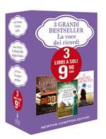 3 grandi bestseller. La voce dei ricordi: L'ultima perla-Un amore perduto-Il silenzio della pioggia d'estate