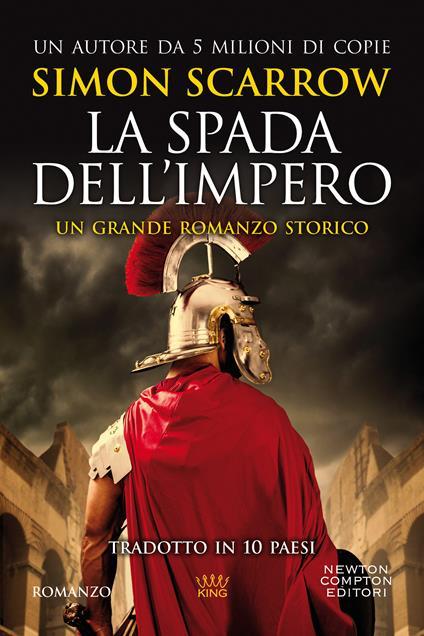 La spada dell'impero - Simon Scarrow - copertina