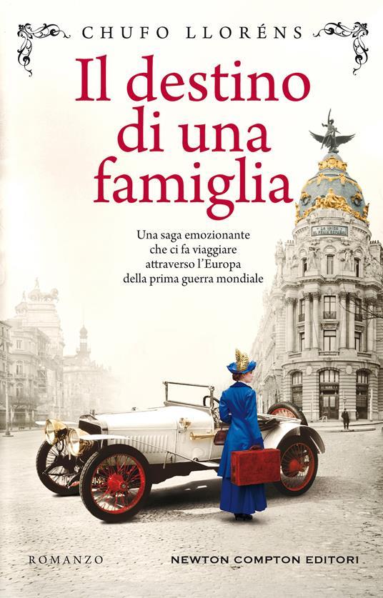 Il destino di una famiglia - Chufo Lloréns - copertina