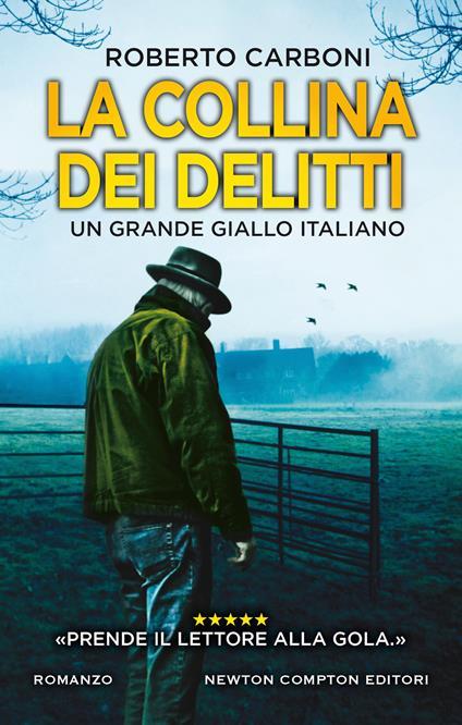 La collina dei delitti - Roberto Carboni - copertina
