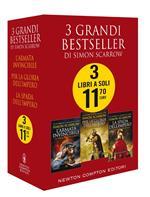 3 grandi bestseller di Simon Scarrow: L'armata invincibile-Per la gloria dell'impero-La spada dell'impero