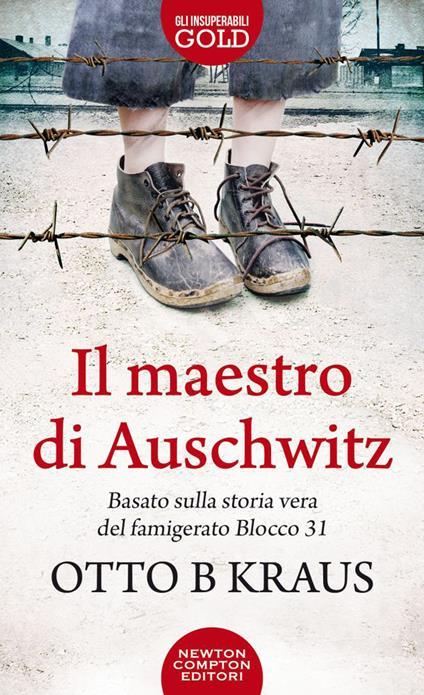 Il maestro di Auschwitz - Otto B Kraus - copertina