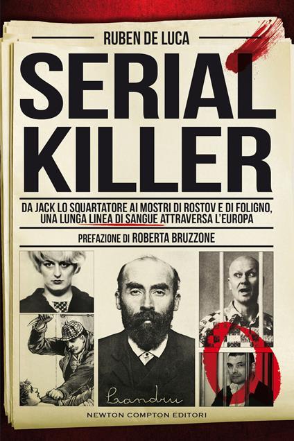 Serial killer - Ruben De Luca - copertina