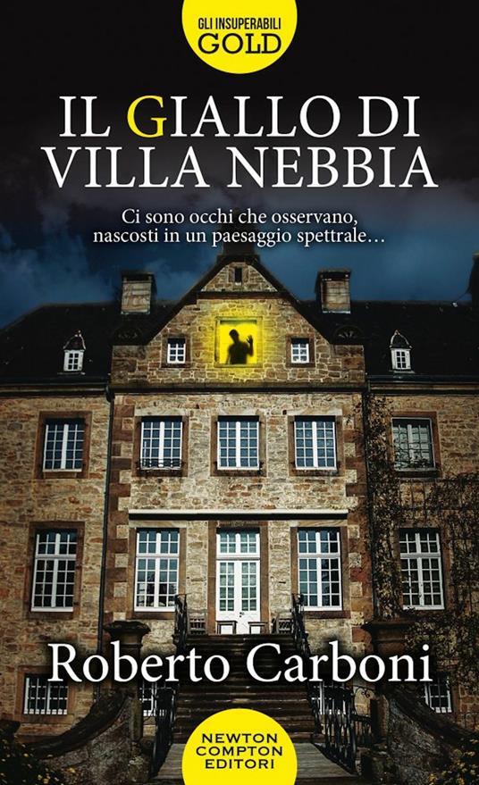 Il giallo di Villa Nebbia - Roberto Carboni - copertina
