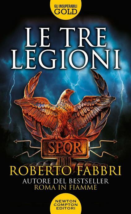 Le tre legioni - Roberto Fabbri - copertina