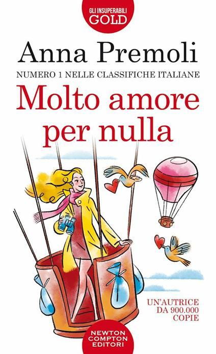 Molto amore per nulla - Anna Premoli - copertina