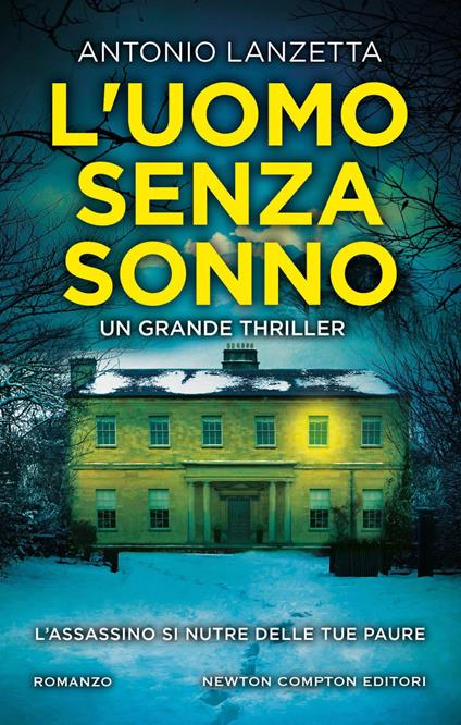 L' uomo senza sonno - Antonio Lanzetta - ebook