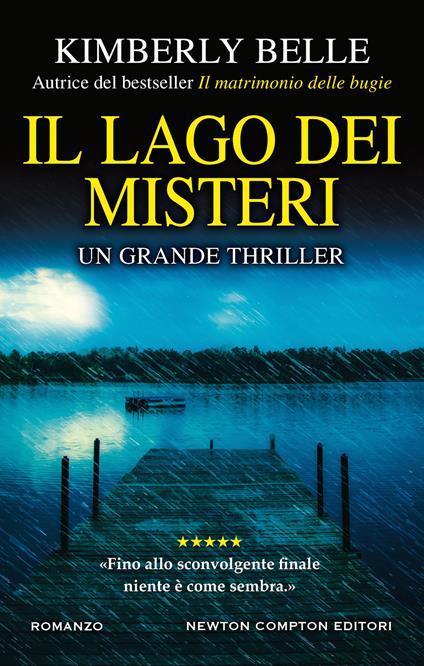 Il lago dei misteri - Kimberly Belle - copertina