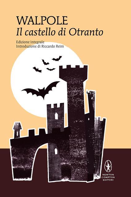 Il castello di Otranto - Horace Walpole - copertina