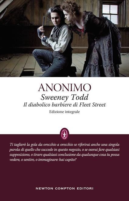 Sweeney Todd. Il diabolico barbiere di Fleet Street. Ediz. integrale - Anonimo - copertina