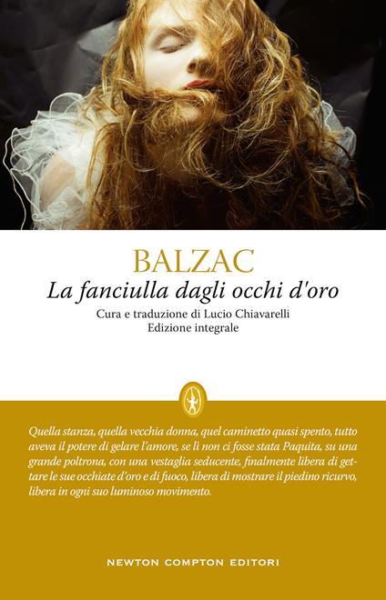 La fanciulla dagli occhi d'oro. Ediz. integrale - Honoré de Balzac - copertina