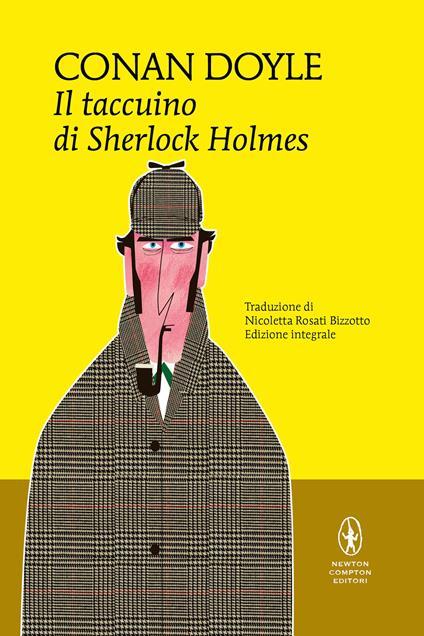 Il taccuino di Sherlock Holmes - Arthur Conan Doyle - copertina
