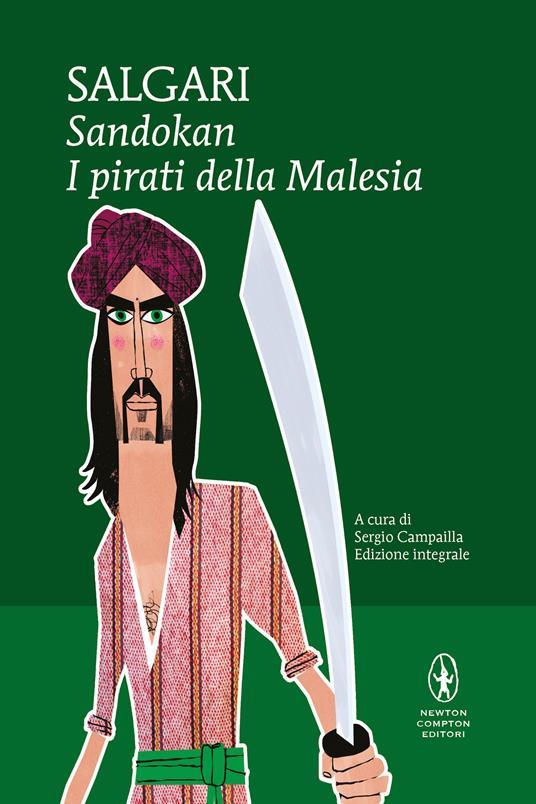Sandokan. I pirati della Malesia. Ediz. integrale - Emilio Salgari - copertina