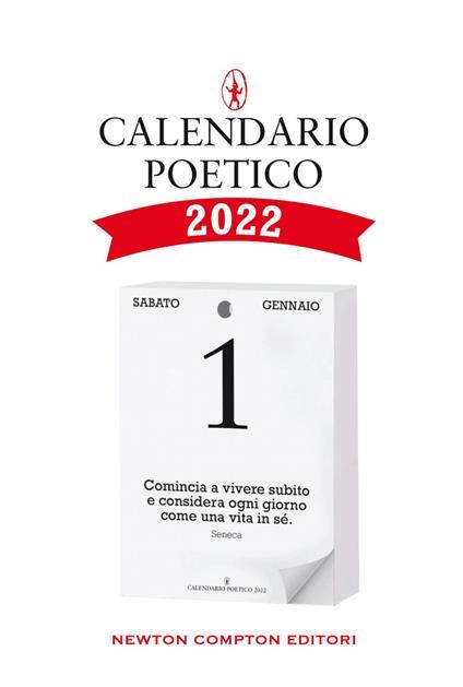 Calendario poetico 2022 - AA.VV. - ebook