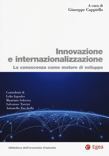 Innovazione e internazionalizzazione. La conoscenza come motore di sviluppo - copertina