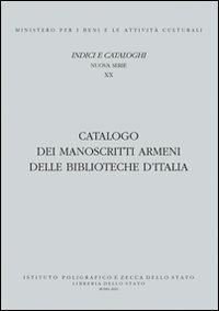 Catalogo dei manoscritti armeni delle biblioteche d'Italia - Gabriella Uluhogian - copertina