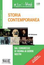 Storia contemporanea. Dal Congresso di Vienna ai giorni nostri