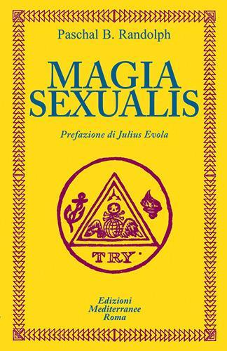 Magia sexualis - Paschal Beverly Randolph - copertina