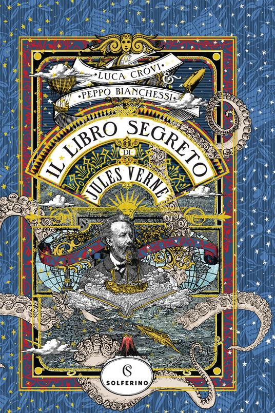 Il libro segreto di Jules Verne - Luca Crovi,Peppo Bianchessi - copertina
