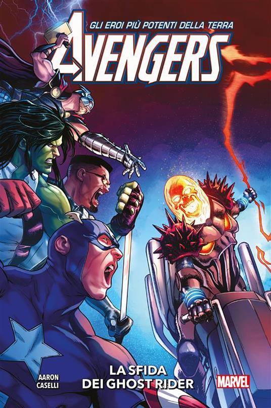 La sfida dei Ghost Rider. Avengers. Vol. 5 - Jason Aaron,Stefano Caselli - ebook