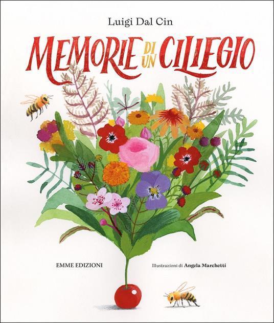 Memorie di un ciliegio - Luigi Dal Cin - copertina