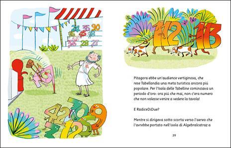 Un nemico per Pitagora. Avventure all'isola delle tabelline. Ediz. ad alta leggibilità - Germano Pettarin,Jacopo Olivieri - 4