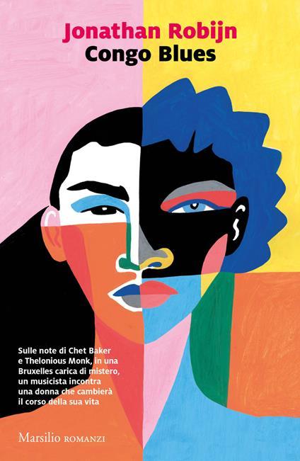 Congo blues - Jonathan Robijn - copertina