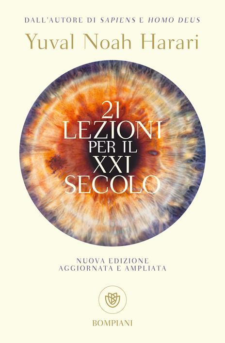 21 lezioni per il XXI secolo - Yuval Noah Harari - copertina