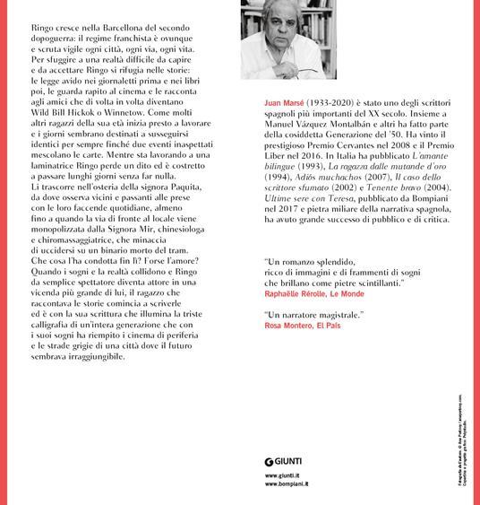 Calligrafia dei sogni - Juan Marsé - 4