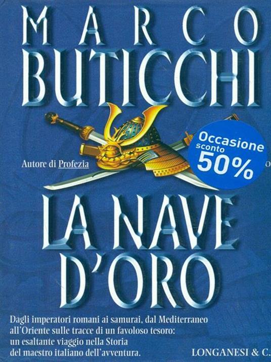 La nave d'oro - Marco Buticchi - 3