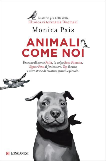 Animali come noi - Monica Pais - copertina