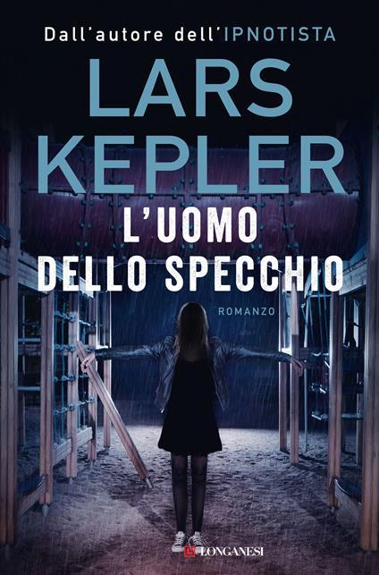 L' uomo dello specchio - Lars Kepler - copertina