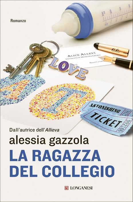 La ragazza del collegio - Alessia Gazzola - copertina
