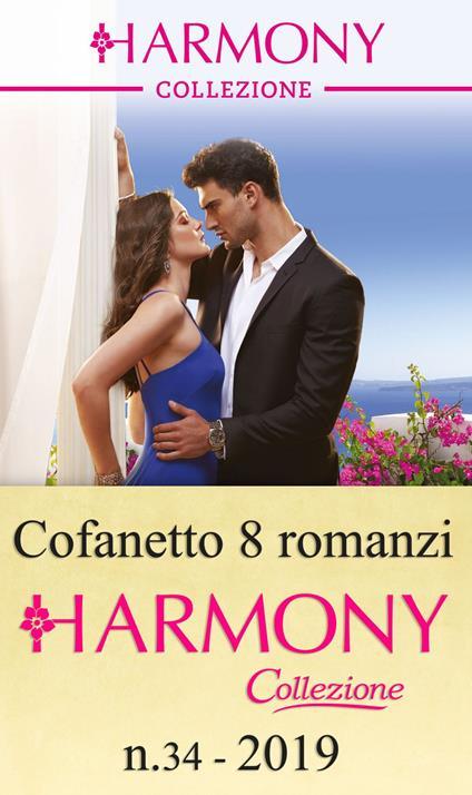 Harmony Collezione (2019). Vol. 34 - Jennifer Hayward,Kate Hewitt,Miranda Lee,Melanie Milburne - ebook
