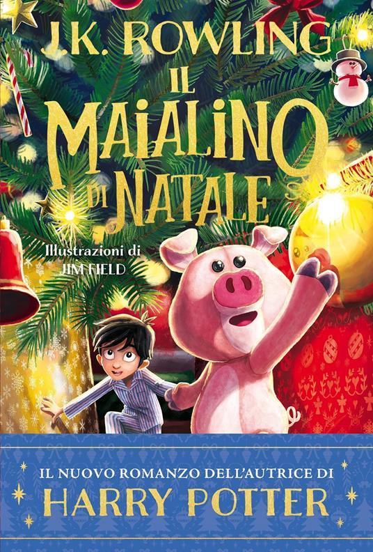 Il Maialino di Natale - J. K. Rowling - copertina