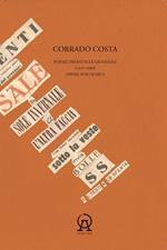 Opere poetiche. Vol. 1: Poesie infantili e giovanili (1937-1960).