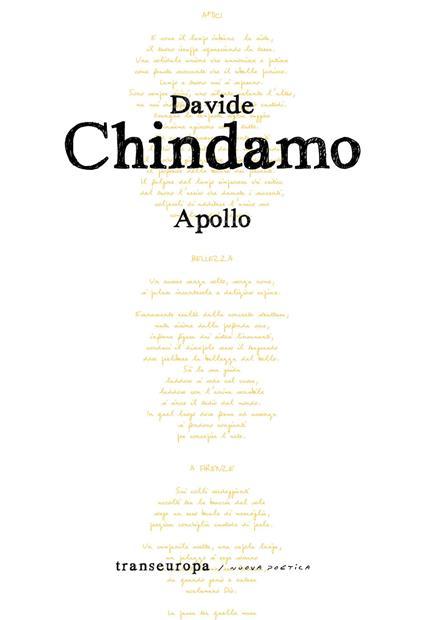 Apollo - Davide Chindamo - copertina