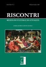 Riscontri. Rivista di cultura e di attualità (2020). Vol. 2: Maggio-agosto.