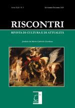 Riscontri. Rivista di cultura e di attualità (2020). Vol. 3: Settembre-dicembre.