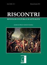 Riscontri. Rivista di cultura e di attualità (2021). Vol. 2: Maggio-agosto.