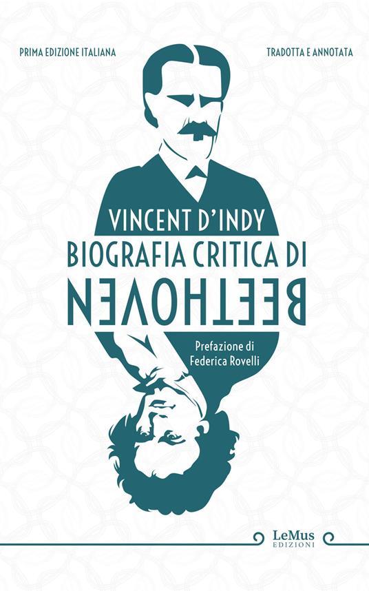 Biografia critica di Beethoven - Vincent D'Indy - copertina