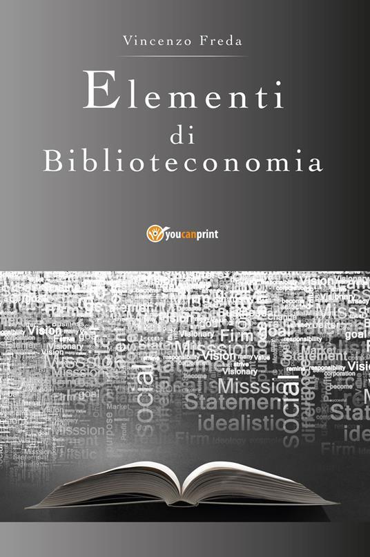 Elementi di biblioteconomia - Vincenzo Freda - copertina