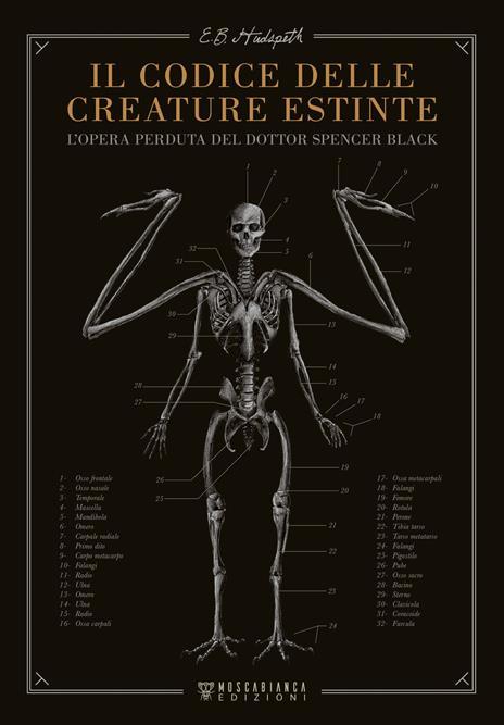 Il codice delle creature estinte. L'opera perduta del dottor Spencer Black - E.B. Hudspeth - 2
