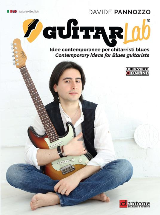 Guitarlab. Metodo. Idee contemporanee per chitarristi blues-Contemporary ideas for Blues guitarists. Ediz. bilingue - Davide Panozzo - copertina